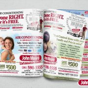 John Moore Ad Mock-up