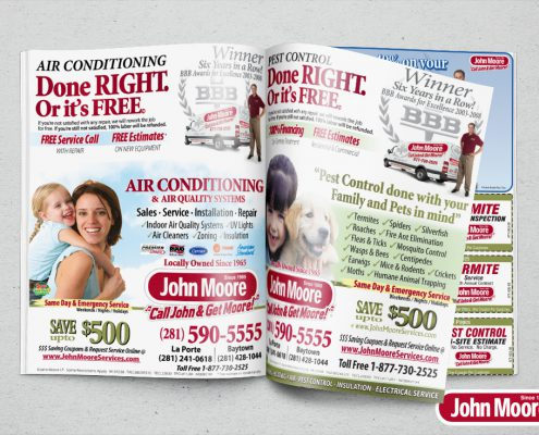 John Moore Ad Mock-up