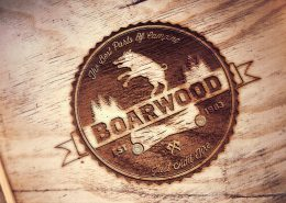 Boarwood Engraved Logo
