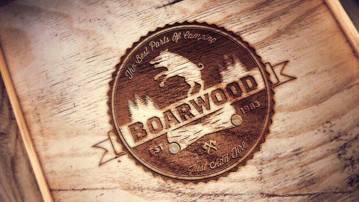 Boarwood Engraved Logo